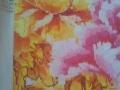花开富贵紫孔雀