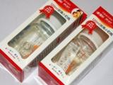 厂家直销批发供应爱得利玻璃奶瓶120ML       A23