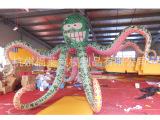 充气装饰气模,充气章鱼,舞台气模,充气海洋模型,杭州气模装饰