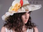 韩版2014新款爆款 女潮蕾丝花朵帽防晒太阳帽防紫外线遮阳帽批发