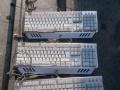 处理网吧游戏键盘9成新40元一个