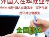 外籍工作签证申请材料翻译工作签证申请工作许可申