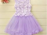 儿童公主裙女童洋气裙子夏季连衣裙韩版女孩夏装蓬蓬纱裙