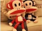可爱情侣猴子毛绒玩具 毛绒公仔 小猴子玩偶
