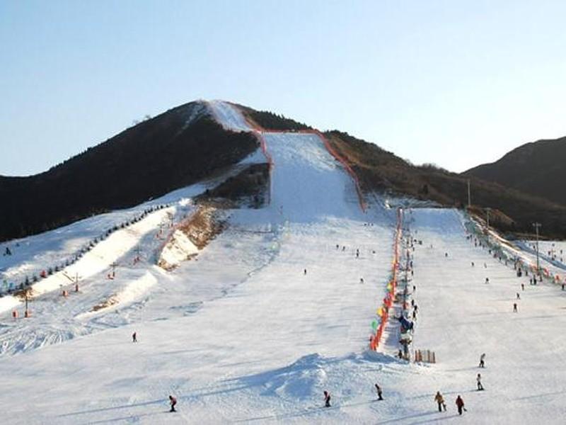 京东温泉 渔阳滑雪场 特价两日游