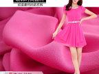 2015春夏服装 50D聚酯纤维加捻佳丽纱雪纺布料 高档裙子女装面料