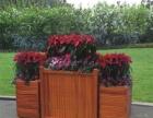 防腐木花箱树池葡萄架亲水平台木围栏扶手露台阳台装饰