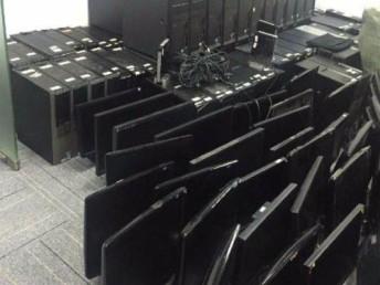 高收空調電腦電器辦公家具廚具設備電線電纜各類二手貨廢舊物資
