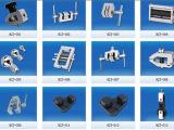 厂价直销各式拉力夹具 拉力测试机配件 HJJ系列 推拉力计测试配