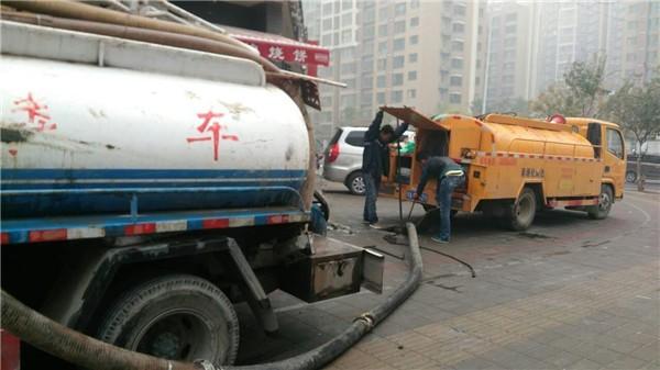 中原区清理化粪池价格 疏通污水管 雨水井疏通清理,市政清淤