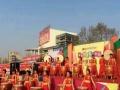 开业庆典舞狮 开场旗舞 雕龙鼓表演 鼓舞