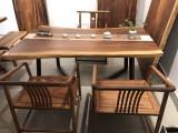 南宁市实木大板在哪里有卖 实木大板做茶桌餐桌 可以定制