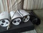 监控摄像头,4路硬盘录像机