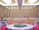 西安领导者厂家直销酒店会议室宴会厅活动隔断移动屏风
