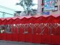 定做大型固定仓库篷移动大帐篷推拉式帐篷活动仓库棚