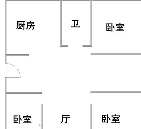 绿波公寓 17楼出租 2600 随时看房 有钥匙 适合办公 绿波公寓