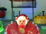 宝儿乐新款玩具车 带敞篷的夏季广场游乐车