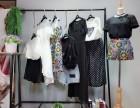 知名品牌(三彩)夏装库存批发 品牌女装尾货折扣批发
