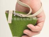厂家定做毛毡零钱包 粽子礼品包 时尚小包 广告礼品 支持订做