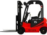 有力CPD1吨电动叉车 平衡重叉车 电动搬运车 电瓶叉车