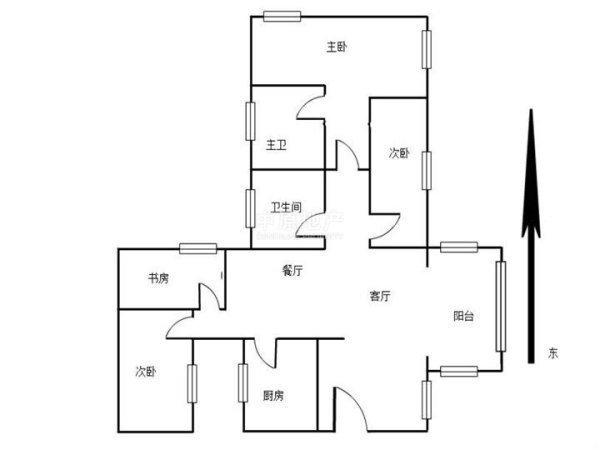康欣园4室拎包入住 全家人的享受