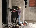 水钻打孔接管子水锯切割混凝土墙