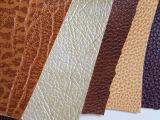 【天安新材】欧式沙发用PVC革 珠光双色超厚西皮 不掉色不掉皮