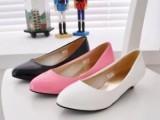 厂家直供 2013新款女鞋低跟尖头鞋子 鞋子代理加盟