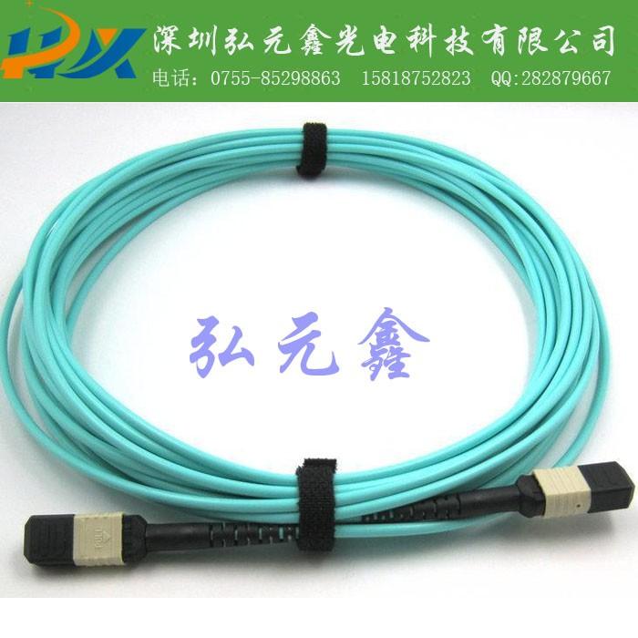 弘元鑫 厂家直销 MPO/MTP高密度光纤跳线