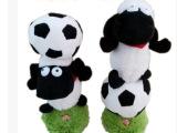 动感音乐小羊肖恩顶足球电动跳舞娃娃公仔玩具儿童节生日礼物男女