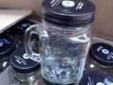 保定水杯缤纷彩色玻璃杯梅森杯水杯定制