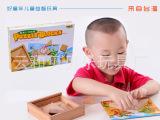 一件代发 批发儿童益智 木制早教玩具 创意七巧板 木质高档七巧板