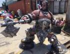 魔兽人物模型出租出售玻璃钢制作魔兽模型两个世界一心守护