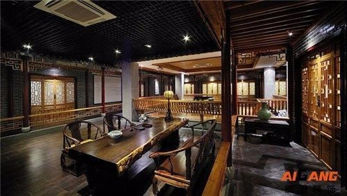 重庆餐厅装修 餐厅装饰设计 餐饮店面装修装饰 爱港装饰