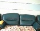 出售真皮沙发组合:三人一个,单人两个