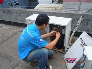 无锡新吴区硕放镇空调维修移机加氟清洗保养空调