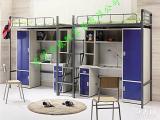 供应学生公寓组合床生产厂家 大学宿舍组合床批发商