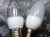 厂家直销led塑料尖泡  3W贴片蜡烛灯