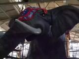 岳阳机械大象出租,机械大象出售