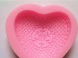 中国结心型模具 硅胶翻糖蛋糕模  烘焙工具 手工皂模具订制