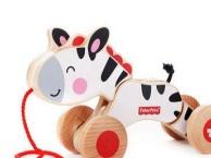 费雪拖拉斑马 牵绳小马 宝宝学步运动 儿童益智玩具