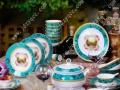 陶瓷餐具定制各类婚庆陶瓷餐具设计