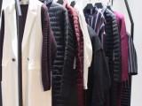 广州惠汇服饰17年秋冬品牌E15羽绒服品牌折扣库存尾货