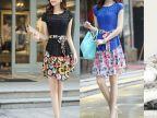 【伙拼】雪纺连衣裙 品牌新款连衣裙 夏季 服装批发 女装韩版爆款