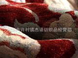 专业生产 新款提花窗帘布 欧式高档沙发面料布料 雪尼尔 红牡丹