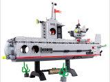 正品启蒙玩具 潜水艇系列 益智拼装积木玩具 DIY玩具