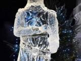 大同冰雕艺术展览 冰雕造型定制 可圆雕透雕浮雕