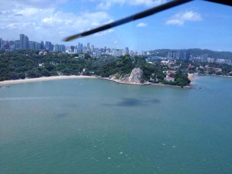 厦门直升机空中看厦门旅游的联系预定电话