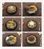 仿真各式铁板西餐牛扒 专业制作仿真食物模型 酒店餐厅展示样品