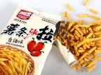 湖南特产湘康薯条沙拉108g 膨化食品休闲零食香辣味原味批发特价